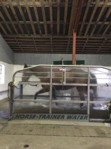 Aquatræning på vandbånd